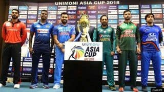 Asia Cup 2021 Cancelled Due to Rising COVID-19 Cases in Sri Lanka