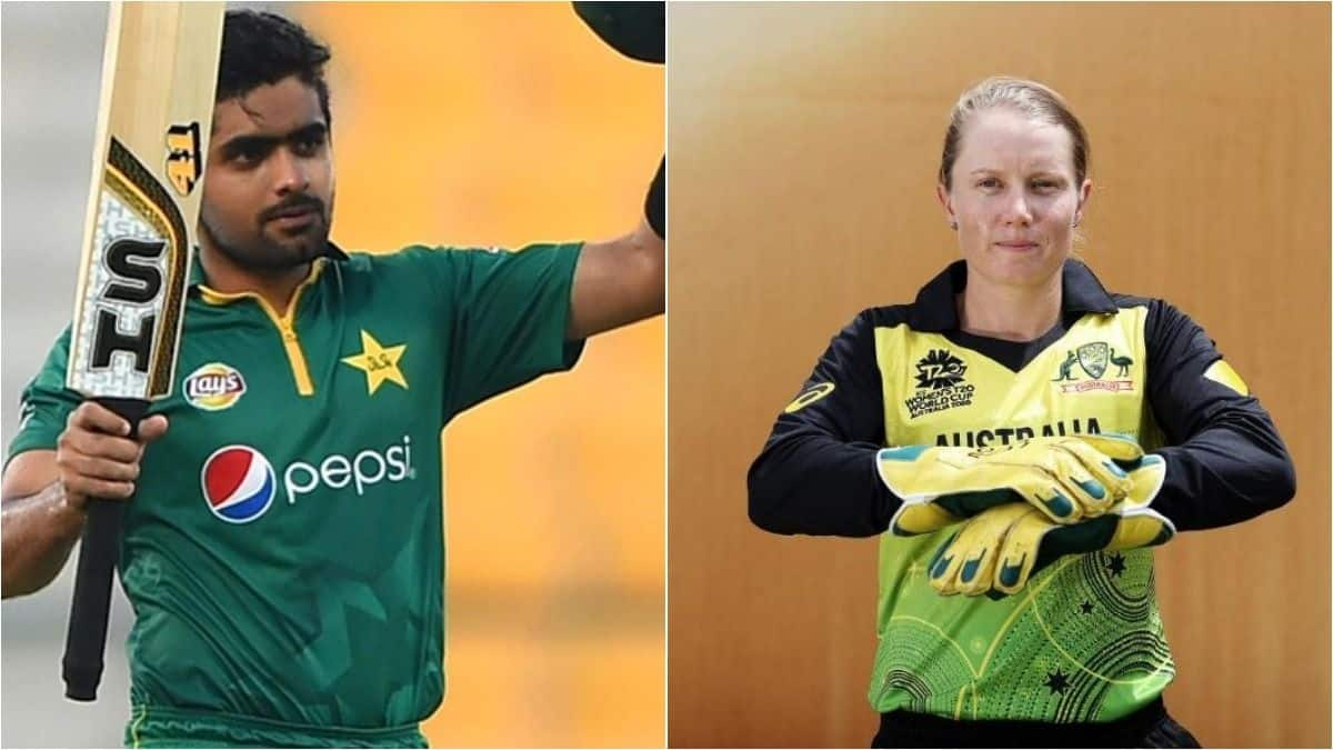 Babar, Healy - ICC Players of The Month