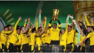 Erling Haaland, Jadon Sancho propel Dortmund to 5th German Cup truimph