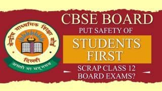 Scrap Class 12 CBSE Board Exams And Put Safety of Students First? Advocate Mamata Sharma Answers