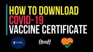 कैसे डाउनलोड कर सकते हैं Covid-19 Vaccine Certificate, वीडियो में जानें पूरा प्रोसेस