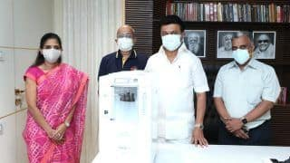 Chennai Super Kings Donate 450 Oxygen Concentrators to TN Government