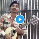 ITBP Personnel Plays Soulful Tune on Mandolin, Dedicates It to COVID-19 Warriors | Watch