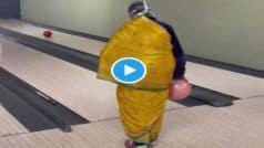 Dadi Ka Swag: पीली साड़ी वाली दादी ने Bowling में पहली बार में मारा छक्का, 4 मिलियन व्यूज | Grandma Viral Video