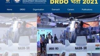 DRDO Recruitment 2021: DRDO में इन विभिन्न पदों पर बिना परीक्षा मिल सकती है नौकरी, जल्द करें अप्लाई, मिलेगी अच्छी सैलरी