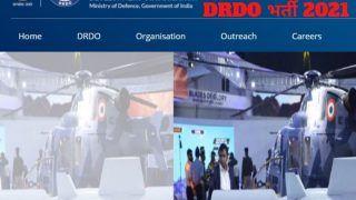 DRDO Recruitment 2021: DRDO में नौकरी करने का सुनहरा अवसर, बिना परीक्षा होगा चयन, इस Direct Link से करें आवेदन