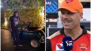 David Warner Pokes Fun at Chris Gayle Over His Unique Car