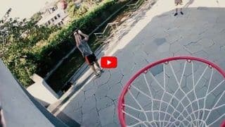 Ipl 2021 jason holder david warner kane williamson show their basketball skills in srh camp watch video 4658613