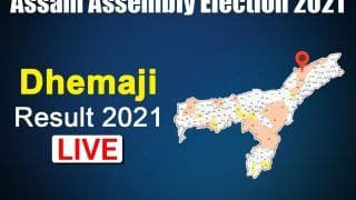 Dhemaji Assembly Election Result: Ranoj Pegu of BJP Wins the Seat