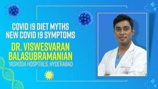 Covid 19 Diet: कोरोना के दौरान खानपान को लेकर क्या है भ्रम? Dr. Viswesvaran से जानिए सच्चाई
