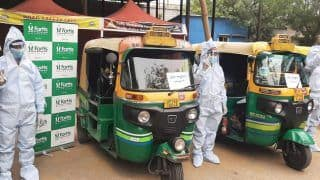 Noida Gets 20 'Auto-Ambulances' Fitted With Oxygen Support to Help COVID Patients | See Pics
