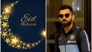 'Stay Safe' - Kohli, Other Cricketers Wish Fans Eid Mubarak With a Strong Message