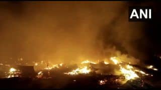 Noida: Massive Fire Breaks Out in Barola Village In Sector 49, 12 Fire Tenders Rush To Spot