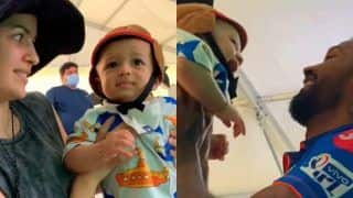 Mothers Day: बेबी अगस्तय ने मां नताशा के साथ जमकर की मस्ती, MI ने वीडियो शेयर कर मराठी में कही ये बात