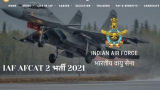 IAF AFCAT 2 Recruitment 2021: भारतीय वायु सेना में अधिकारी बनने का गोल्डन चांस, कल से आवेदन शुरू, 1.7 लाख होगी सैलरी