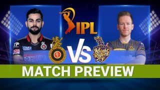 KKR vs RCB IPL 2021 Probable XIs, Pitch And Weather Report For Today's T20 Match 30 at Narendra Modi Stadium, Ahmedabad May 3