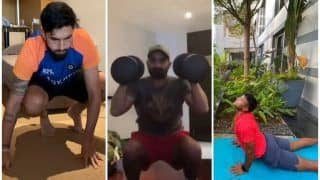 WATCH | How Indian Cricketers Are Training Indoors During Quarantine to Stay Fit For WTC Final
