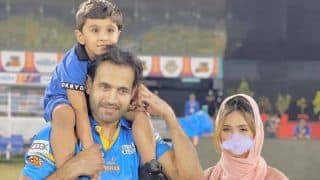 Irfan Pathan Responds to Hate Tweet Over His Wife Safa Baig's Blurred Photo That Has Gone Viral, Says ''I am Her Mate, Not Her Master''