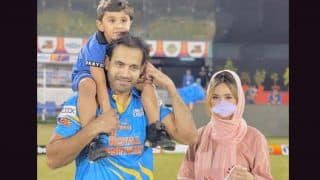 Irfan pathan shared wife safa baig controversial blur picture i am her mate not her master 4691765