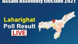 Laharighat Election Result 2021: Dr. Asif Mohammad Nazar of Congress Wins