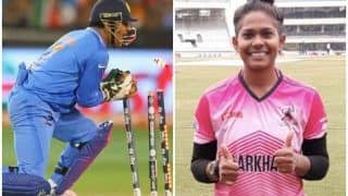 How MS Dhoni Helped Cricketer Indrani Roy Grow as a Wicketkeeper!