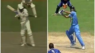 WATCH | Not Dhoni, Azharuddin Was The 1st Cricketer to Play The 'Helicopter Shot'