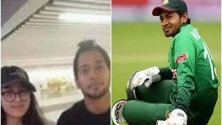 एयरपोर्ट पर लड़की ने खिंचवाई तस्वीर, Mushfiqur Rahim का उड़ा जमकर मजाक