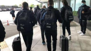 New Zealand Reach London For Tests vs England And WTC Final