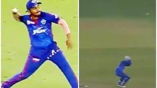 Prithvi Shaw's Erratic Throw Scares Rishabh Pant During PBKS vs DC IPL 2021 Game, Video Goes Viral | WATCH