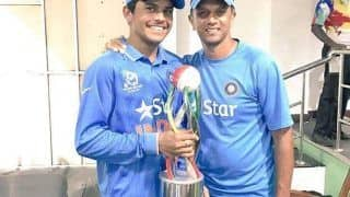 Rahul Dravid Always Helps You, Whether On The Field or Off it - Priyam Garg