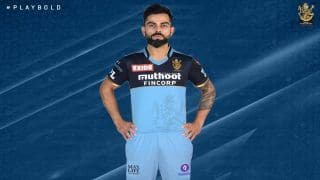 Virat Kohli-Led Royal Challengers Bangalore to Wear Blue Jersey in One IPL 2021 Match to Pay Respect to Frontline Heroes During Covid-19 Pandemic | SEE PIC