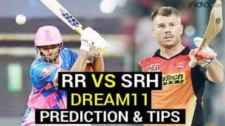 RR vs SRH Dream11 Team Prediction VIVO IPL 2021: Captain, Fantasy Playing Tips, Today's Probable XIs For Today's Rajasthan Royals vs Sunrisers Hyderabad T20 Match 28 at Arun Jaitley Stadium, Delhi, 3.30 PM IST May 2, Sunday