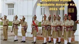 Rajasthan Police Constable Answer Key 2021 Released: राजस्थान पुलिस ने जारी किया कांस्टेबल परीक्षा का Answer Key, ये रहा डाउनलोड करने का Direct Link