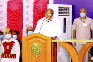 N Rangasamy Takes Oath as Puducherry CM, Other Ministers to Take Oath Later