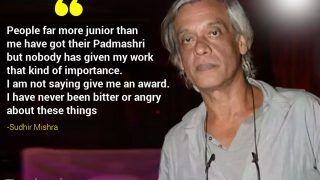 Sudhir Mishra: People Far More Junior Than me Have Got Their Padma Shri | Exclusive