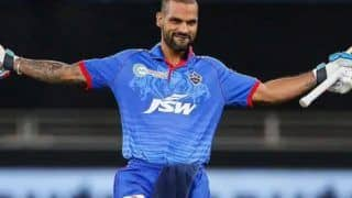 Shikhar Dhawan Receives First Dose of COVID-19 Vaccine