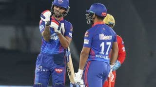 IPL 2021 Today Match Report, PBKS vs DC Scorecard: Shikhar Dhawan Stars in Delhi Capitals' Dominant Seven-Wicket Win Over Punjab Kings