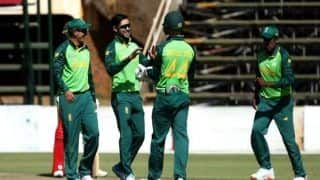 Theunis de Bruyn ton powers South Africa A to win