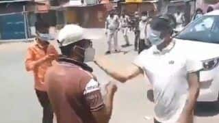 Video: कलेक्टर ने युवक को जड़ा थप्पड़, सोशल मीडिया में वीडियो वायरल होने के बाद मांगी माफी