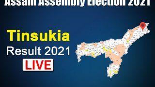 Tinsukia Assembly Election Result: BJP's Sanjoy Kishan Wins with Huge Majority