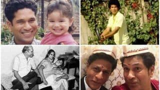 UNSEEN Sachin Tendulkar Pics We Bet You May Not Have Chanced Upon