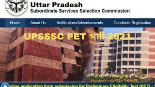 UPSSSC PET Recruitment 2021: UPSSSC में Group C के पदों पर निकली बंपर वैकेंसी, आवेदन प्रक्रिया शुरू, 30000 होगी सैलरी