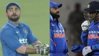 When Virat Kohli Kept Wickets as MS Dhoni Went For a Toilet Break