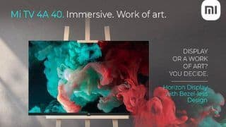 Xiaomi भारत में 1 जून को लॉन्च करेगी Mi TV 4A 40 Horizon Edition, जानिए क्या होगा खास?