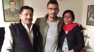 Zvendra chahal father kk chahal admitted to hospital after infected with covid 19 informed wife dhanashree verma 4661360