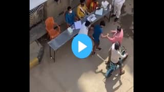 Bengaluru: Viral Video Shows BBMP Men Assault After He Mistook Covid Testing Queue For Vaccination