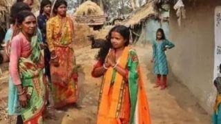 भाजपा के टिकट पर विधानसभा पहुंची दिहाड़ी मजदूर की पत्नी चंदना बाउरी, सोशल मीडिया पर कहानी वायरल