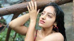 'दीया और बाती हम' फेम Deepika Singh ने तूफान में गिरे पेड़ पर चढ़कर कराया फोटोशूट, बारिश में किया डांस
