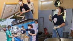 Jacqueline Fernandez ने कोरोना काल में की गरीबों की मदद, लोगों तक पहुंचाया खाना...वायरल हुईं तस्वीरें