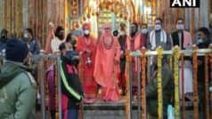 केदारनाथ मंदिर के कपटा खुले, पीएम मोदी की ओर से हुई पहली पूजा